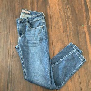 EUC JustUSA Blue High Rise Denim Skinny Jeans